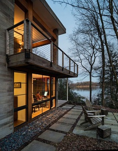 Little Round Bay House by Dynerman Architects 14
