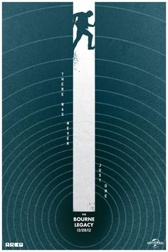 Alternative Bourne Legacy Posters Films ShortList Magazine #graphic #action #concentric #climb