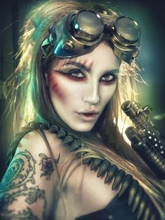 Steampunk Fashion by Rebeca Saray | Cuded #fashion #steampunk #rebeca #saray