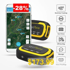 goTele #GPS #Tracker #- #No #Network #Required #Mini #Portable #Off-grid #Real #Time #GPS #Tracking #Device