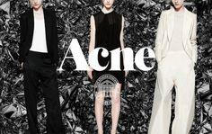 Acne Studios Fashion Jonny Johansson #acne #branding