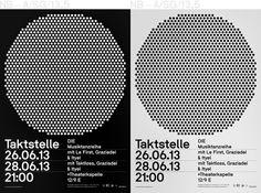 Neubau (Berlin)/Taktstelle, Die Musiktanzreihe (A1 Poster, A6 Flyer) #vv