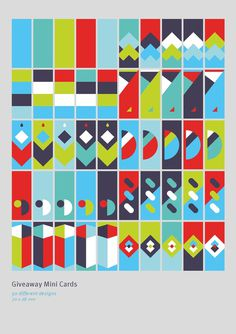 Karlo Mini Cards - Leciel #pattern