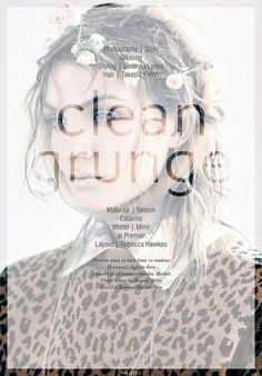 Volt Magazine #clean #grunge