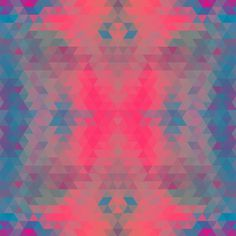 Pattern Collage - sallie harrison #pattern #wallpaper #color #shapes #geometric #triangles #pantone #collage