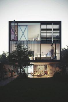 Glass Box Home