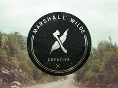 FFFFOUND! | Dribbble - Marshall Wilde logo by Drew Smith #logo #seal #stamp #mark