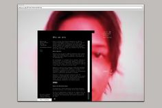 This is Real Art | Projects | Reprieve | zero dB #webdesign