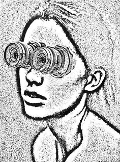 Sibyl, by Dan Bina #ink #ny #bina #drawing #mythology #dan #painting #art #york #paper #brooklyn #new