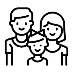 See more icon inspiration related to love, mother, father, family, people, daughter and parents on Flaticon.