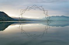 Ephemeral Environmental Sculptures Evoke Cycles of NatureJanuary 1 #natural #sculpture #nature