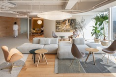 ECCO Xi'an Office by HONG Designworks - A Space Infused with Natural Rhythm