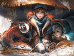 Amazing Digital Art Characters by Sakimi Chan #digital art #characters design