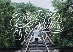 Explore The Possibilities - 📷by @mika.matin / @unsplash - #graphicdesign #typostrate #typegang #explore #inspiration #typography #thedail