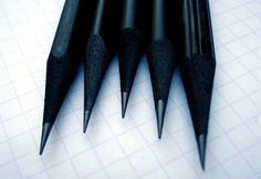 Drop Anchors #black #pencils