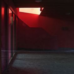 P1050080a4kant | Flickr - Photo Sharing! #interior #abstract #red #architecture #light