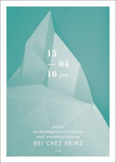 Design Bureau :: Hardy Seiler #fold #event #print #design #graphic #poster #party