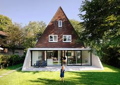 Triangular Brick House in the North of Holland by Baksvan Wengerden #architecture