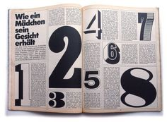 Twen magazine #number #layout #editorial #magazine #typography