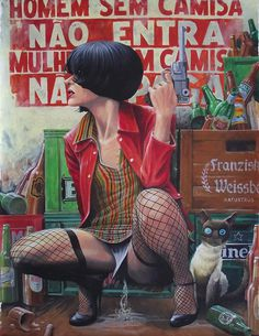 Da Mulher e suas Circunstâncias, Shiko #sexy #girl #gun #cover #comic #illustration #drawing
