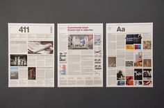 The 411 Newspaper : Kristoffer Wilson #design #graphic #newspaper