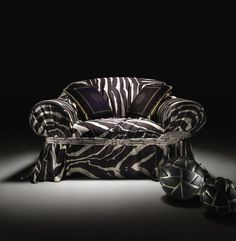 Art sofa #accessories #artistic #collection #home #furniture #cavalli #art #roberto