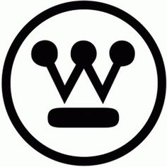 westinghouse.gif (GIF Image, 250 × 250 pixels) #crown #westinghouse #classic #simple #dots #rand #identity #circle #paul