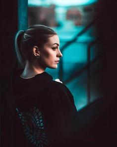 Moody Street Style Portrait Photography by Shani Varner