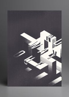 Graphic Art of 2012 by Marius Roosendaal #poster