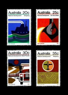 Recollection #stamps #1973 #australian
