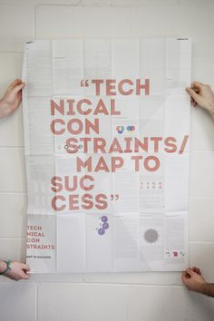 Technical Constraints #constraints #print #design #graphic #map #publication #technical