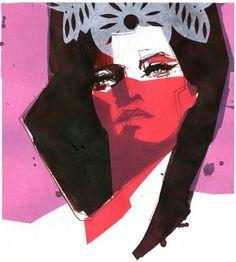 Cut Paper : Stina Persson #stina #illustration #persson