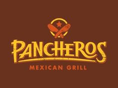 Dribbble - Pancheros Logo by Evan Stremke #logo #identity #burritos
