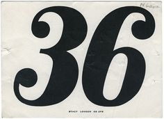 0. Everything or absoluteness; All - but does it float / Bench.li #numerals #typography