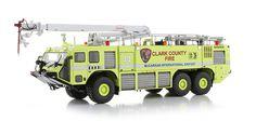die cast McCarrin International Airport striker firetruck #truck #utilitarian #striker #fire #airport