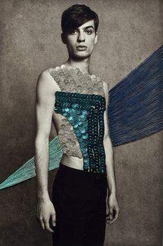 GLTZ, fashion communication inspired by Maurizio Anzeri #fashion