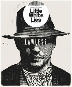 Little White Lies (UK) - Coverjunkie.com #woodcut #hardy #magazine