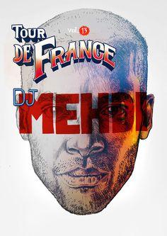 Tour De France POSTERS #mehdi #france #de #dj #maciek #studio #poster #lisy #wolaski #tour