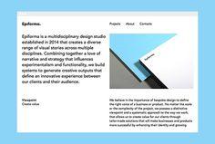 Epiforma by Epiforma #web design #website