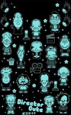ilustración / dibujo, diseño web y camisetas | OFGMS | olivier fritsch gomez #cute #movies #kawai #directors