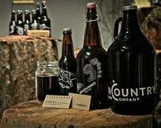 Backcountry Brew Company #packaging #beer #label #bottle