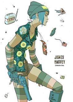 X__X • 死 者 の 顔 •   James Harvey