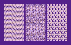 Momo Smartphone Case Packaging - Patterns Inspired by 1970s