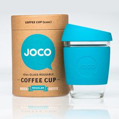 Joco Coffee Cup - Sustainable Packaging Design #packaging #design #graphic #3d