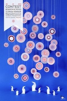 design work life » cataloging inspiration daily #paper #installation