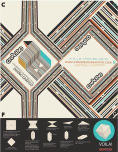 Creactivo 10th #fold #sonora #creactivo #linea #punto #a #ball #del #mexico #congreso #origami #la