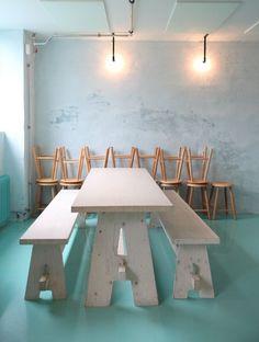 mikkellerfriendscopenhagen1 #interior #light #green