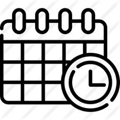 See more icon inspiration related to calendar, time, date, deadline, Deadlines, business and time and date on Flaticon.
