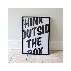 think_1000px_frm.jpg (1000×1000) #inspiration #frame #print #poster #art