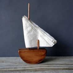 All Things Stylish #sailboat #tissue #design #product #napkin #holder #clever